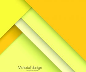 Abstract material design background template vector 03