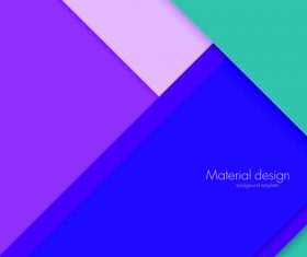Abstract material design background template vector 04