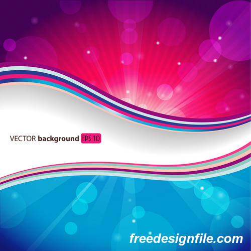 Abstract Pink With Blue Background Vectors Graphics Free Download