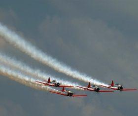 Aircraft flight show Stock Photo 01