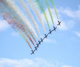 Aircraft flight show Stock Photo 04