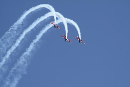 Aircraft flight show Stock Photo 05