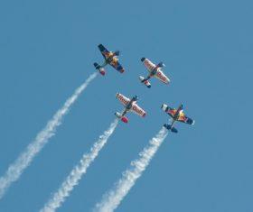 Aircraft flight show Stock Photo 07