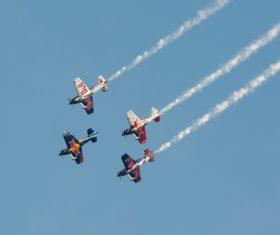 Aircraft flight show Stock Photo 08