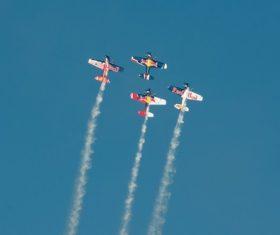 Aircraft flight show Stock Photo 09