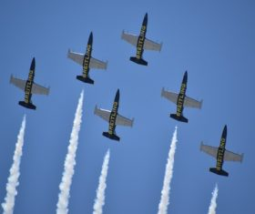 Aircraft flight show Stock Photo 14