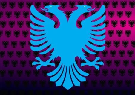 Albanian Eagle vector