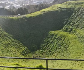 Auckland New Zealand Mount Eden Landscapes Stock Photo 02