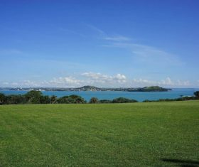 Auckland New Zealand Mount Eden Landscapes Stock Photo 04