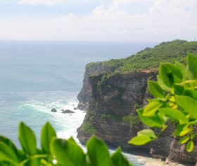 Bali Lovers Cliff Natural Scenery Stock Photo 06
