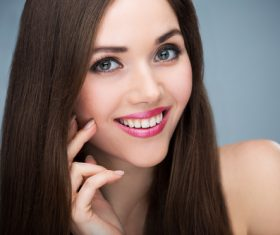Beautiful young woman makeup Stock Photo 08