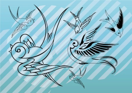 Bird Art vector