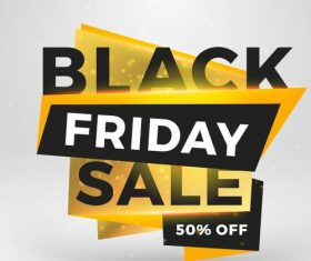 Black firday sale discount banners creative vectors 01