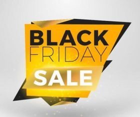 Black firday sale discount banners creative vectors 04