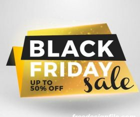 Black firday sale discount banners creative vectors 05