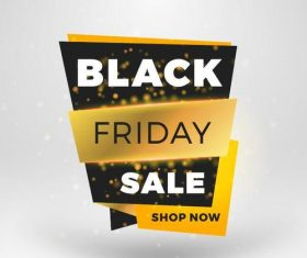 Black firday sale discount banners creative vectors 07