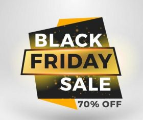 Black firday sale discount banners creative vectors 09