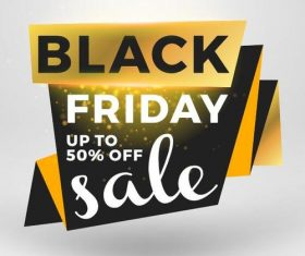 Black firday sale discount banners creative vectors 11