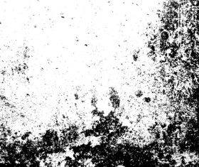Black paint texture grunge background vector 03