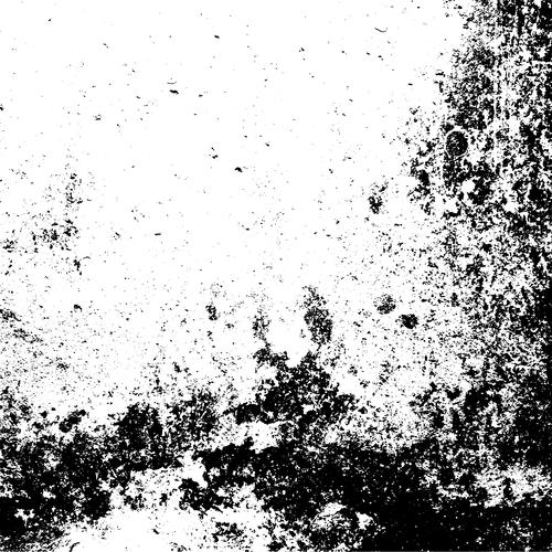 Black paint texture grunge background vector 03