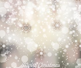 Brilliant christmas with new year snow background vector