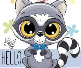 Cartoon cat cute design vectors material 05