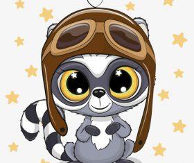 Cartoon cat cute design vectors material 09