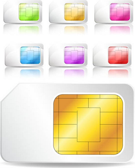 Color Card Chips free vector