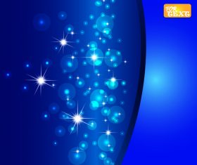 Colorful abstract background blue vector