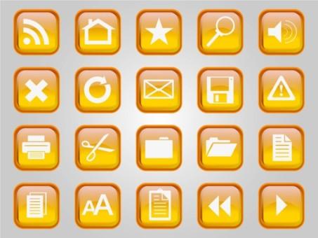 Computer Vector Icons vector