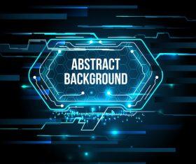 Concept futuristic tech background vectors 03