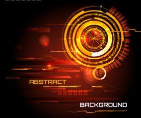 Concept futuristic tech background vectors 06