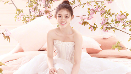 Dainty and charming girl Stock Photo 03