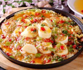 Delicious braised Japanese tofu Stock Photo 06