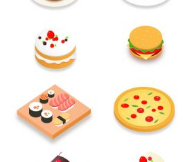 Delicious foods vector design illustration