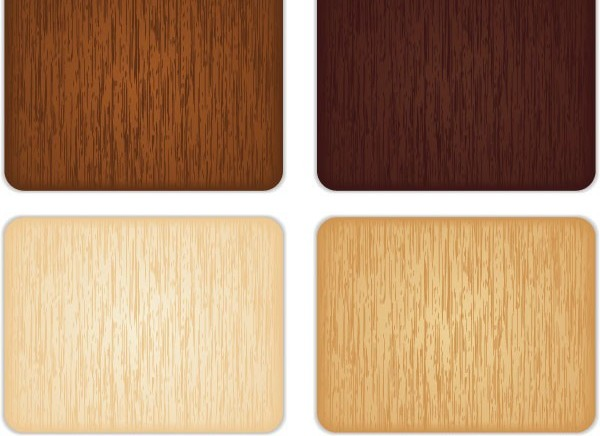 Different colors wood background vectors material