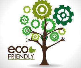 Ecology friendly design vectors 02