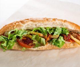 Fast food hot dog Stock Photo 04