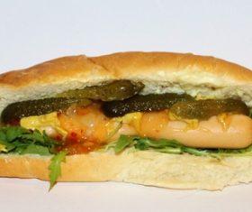 Fast food hot dog Stock Photo 08