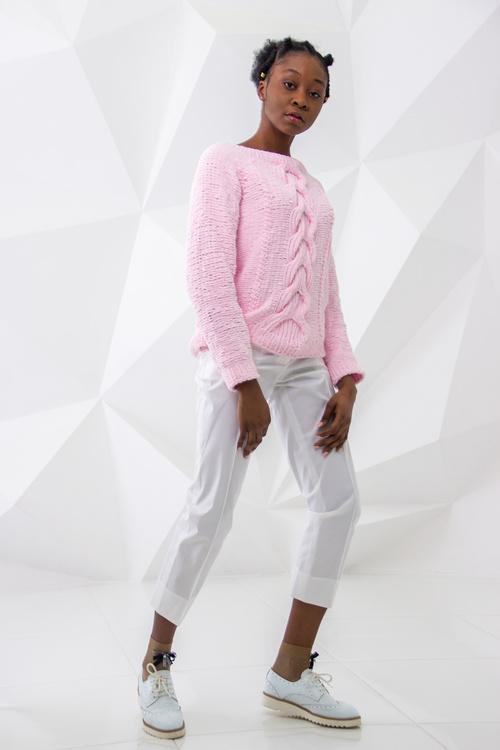 Female clothing model studio shot Stock Photo 02