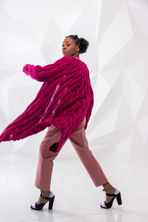 Female clothing model studio shot Stock Photo 04