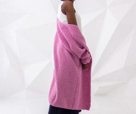 Female clothing model studio shot Stock Photo 05