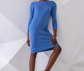 Female clothing model studio shot Stock Photo 08