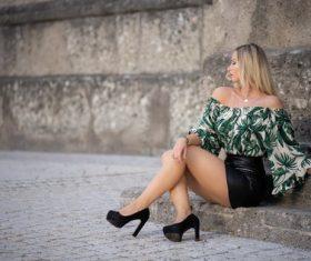Female model posing Stock Photo