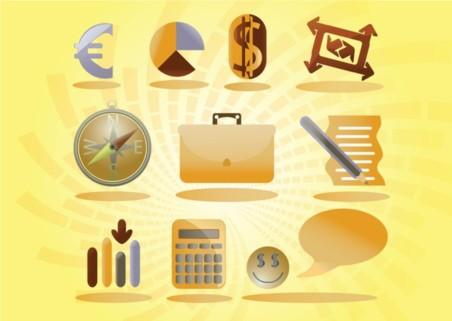 Free Symbols Icons Vector Set vector