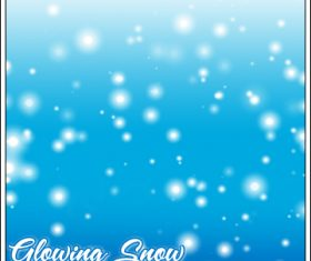 Glowing Snow Photoshop Brushes