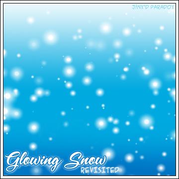 Glowing Snow Photoshop Brushes