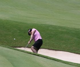 Golf sport Stock Photo 02