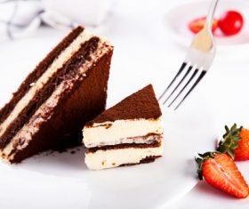 Good-tasting dessert tiramisu Stock Photo 01