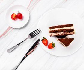 Good-tasting dessert tiramisu Stock Photo 02